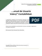 Manual Valery(r) Contabilidad
