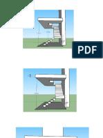 diseño de una escalera