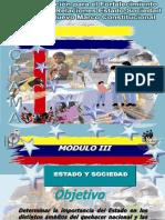 III Estado y Sociedad