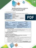 Guía de Actividades y Rúbrica de Evaluación -Tarea 2- Geometría Molecular (16_4)