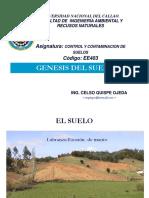 Génesis Del Suelo (Pres. 01)