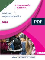 Guia de Orientacion Modulos de Competencias Genericas Saber Pro-2018