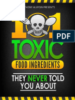 101 Toxic Food Ingredients They Never Told You About