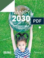 Nancy 2030 Cap Sur La Ville Ecologique