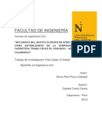 ESTABILIZACIÓN DE SUELOS CON CLORURO DE SODIO