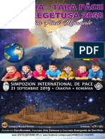 """Simpozionul Internațional de Pace """"România - Țara Păcii și Sarmizegetusa 2050 - Capitala Păcii Mondiale"""""""