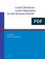 [Ancient Judaism and Early Christianity 94] Yair Furstenberg - Jewish and Christian Communal Identities in the Roman World (2016, Brill Academic Publishers).pdf