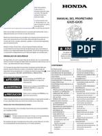 GX35 - Manual Del Propietario