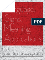 Language, Signs, Meaning, Applications