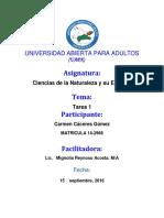 Tarea1 de Ciencia de Naturaleza de Carmen Caseres