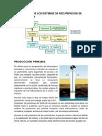 Clasificacion de Los Sistemas de Recuperacion de Hidrocarburos
