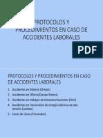 Protocolos y Procedimientos en Caso de Accidentes Laborales