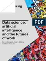 Data Science, Artificial Intelligence and Futures of Work