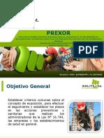 4. Presentación Difusión de Prexor a Empresas