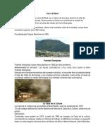 Centros Turisticos de Quetzaltenango