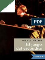 El Juego Del Escondite - Wilkie Collins