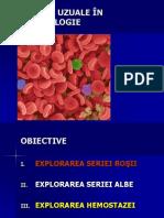 25439048 Analize Uzuale in Hematologie