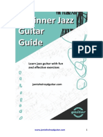 Beginner Jazz Guitar 1