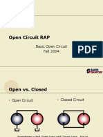 Basic open circuit