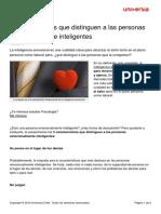 5 Caracteristicas Distinguen Personas Emocionalmente Inteligentes