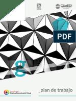 Plan de trabajo Geometría II
