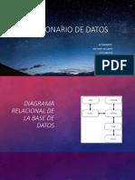 Diagrama Relacional de La Base de Datos