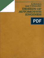 Design of Automotive Engines Kolchin-Demidov_28aaa9e6cbec00c774f1b136dc353917