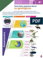 Caracteristicas_fisicoquimicas de las eras geológicas