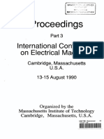 International Conference on Electrical Machines.