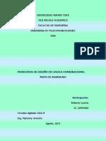 Principios de Diseño de Lógica Combinacional Robersy Lucena