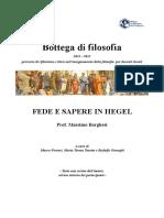 4X. Borghesi M., Fede e Sapere in Hegel