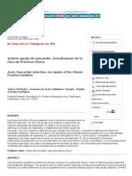 Infarto Agudo de Miocardio. Actualización de La Guía de Práctica Clínica