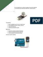 Sensor Mq y Arduino