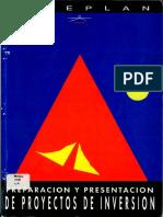 Preparacion y Presentación de Proyectos de Inversion - Ed. MEDIPLAN.pdf