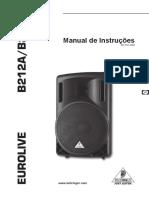 behringher B212A manual