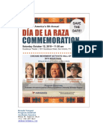 SATX - Dia de La Raza Commemoration - Oct 12