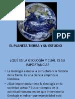 3. El Planeta Tierra y Su Estudio