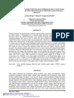 Analisa Pengaruh Sudut Penyinaran Terhadap Gray Value Pada Pola Spekel Buah Apel Menggunakan Metode Laser Speckle Imaging