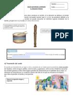 Guía de aprendizaje y actividades cs. naturales.pdf el sonido 3 basico.pdf