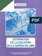 1993 - Gushiken, Jose - Extirpacion Idolatria Sierra Lima