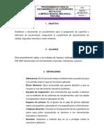 PD5 - V1 Procedimiento Para El Recubrimiento de Superficies Metalicas (Limpieza Manual-mecanica)