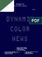 Dynamic Color News - 1985-08