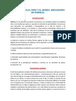 LA POBREZA EN EL PERÚ Y EL MUNDO, INDICADORES.docx