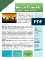 st saviours newsletter - 15 sept 2019 - ot24