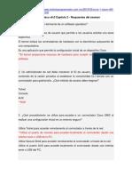 CCNA 1 Cisco v6.0 Capítulo 2 - Respuestas Del Exámen