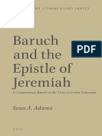 (Septuagint Commentaries) Sean A. Adams - Baruch and the Epistle of Jeremiah_ A Commentary Based on the Texts in Codex Vaticanus-Brill Academic Publishers (2014).pdf