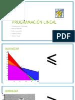 Programación Lineal Fin