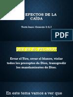 Los Efectos de La Caìda Discipulado Clase1 PDF