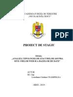 Proiect Stagiu -Ceampelea Loredana