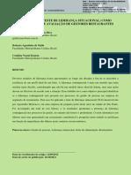 O USO DO TLS (TESTE DE LIDERANÇA SITUACIONAL) COMO INSTRUMENTO DE AVALIAÇÃO DE GESTORES RESTAURANTES